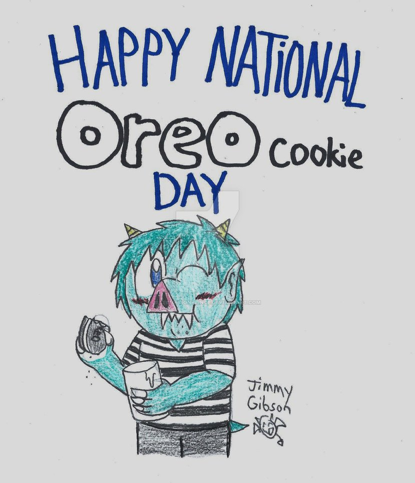 Happy National Oreo Cookie Day! By Celmationprince On Deviantart