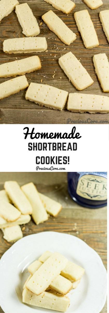 Homemade Shortbread Cookies!
