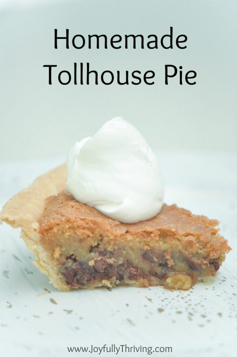 Decadent Tollhouse Pie Recipe Your Whole Family Will Love