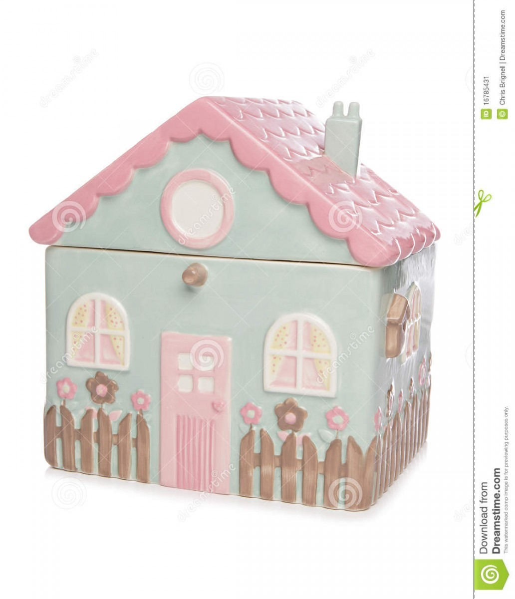 House Cookie Jar Stock Image  Image Of Background, Fresh