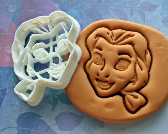 Beauty And The Beast Belle Cookie Cutter Made From