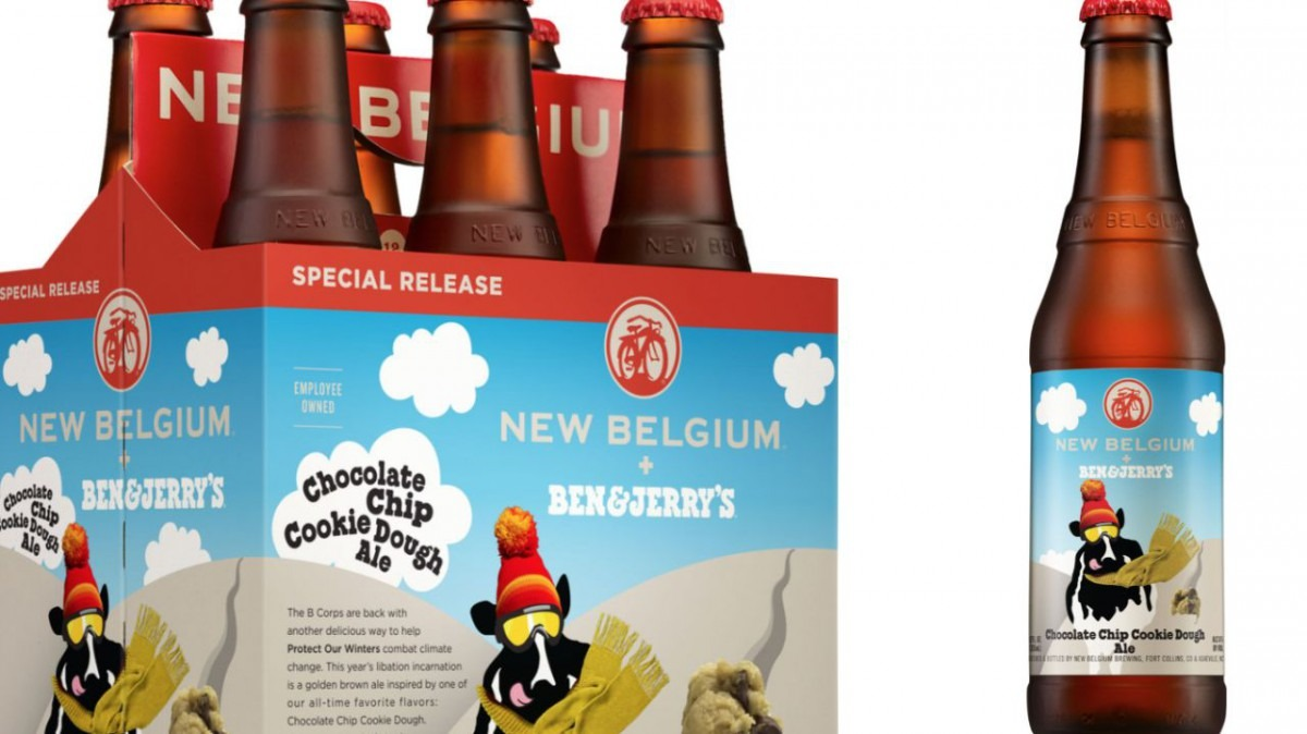 Ben & Jerry's, New Belgium Brewing To Make Chocolate Chip Cookie