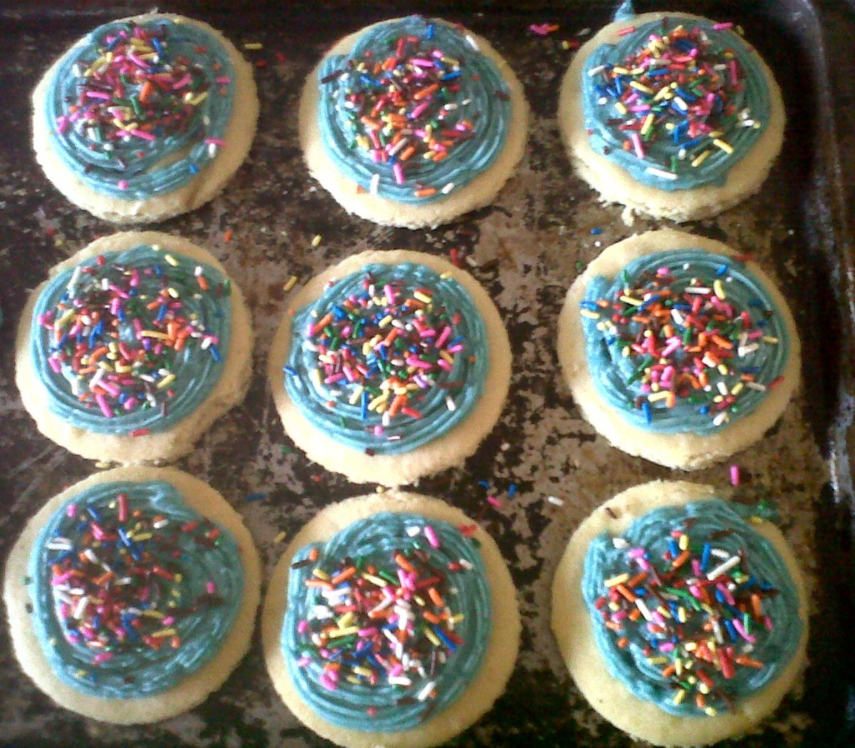 My Prescription For Happiness  {body} Walmart Cake Cookies
