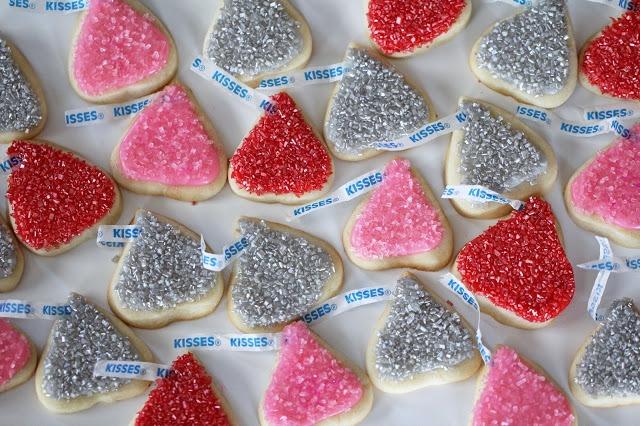Hershey Kiss Sugar Cookies