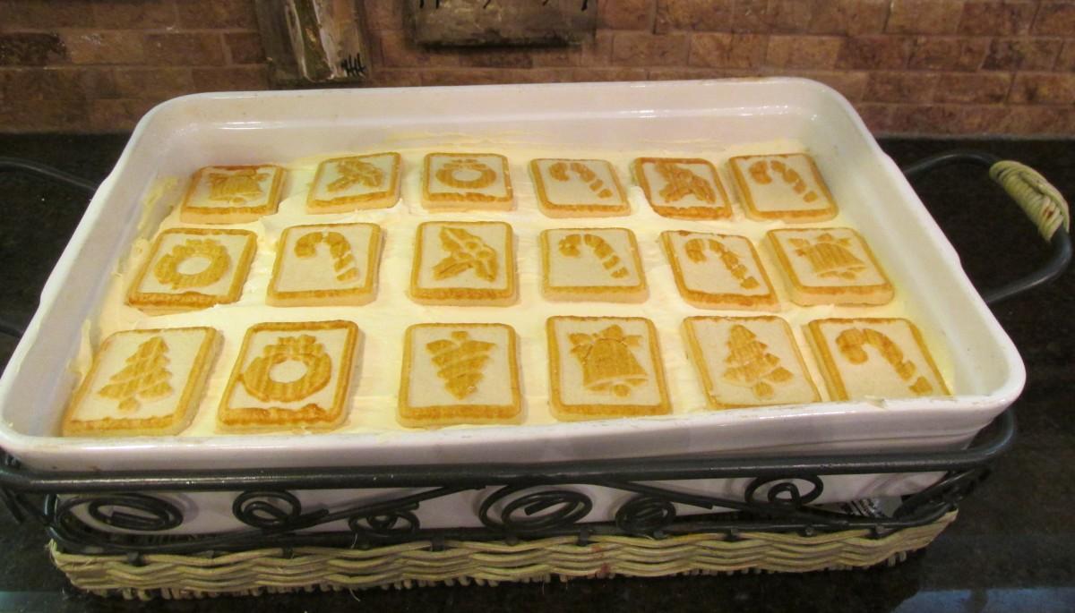 Chessmen Banana Pudding Dessert