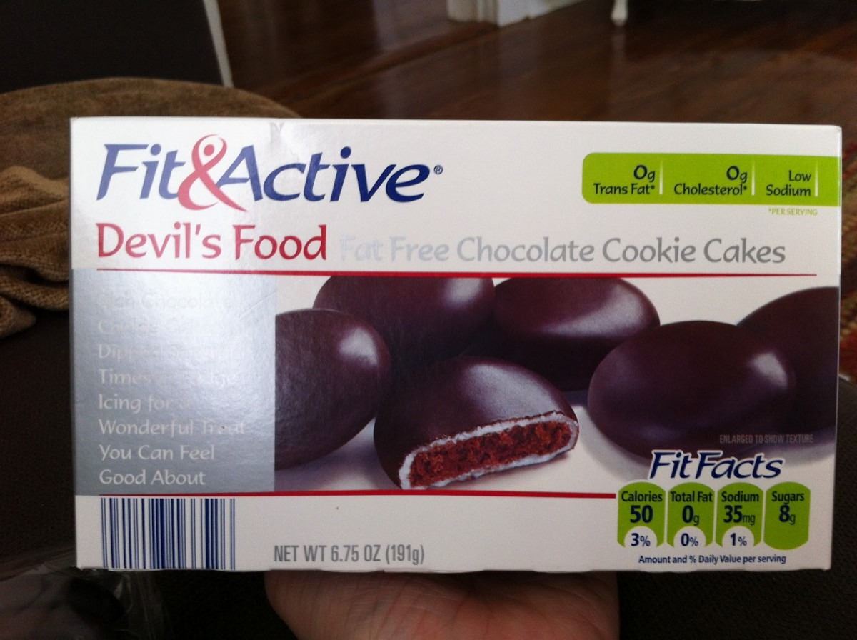 What's Good At Aldi   F&a Devil's Food Fat Free Chocolate Cookie Cakes