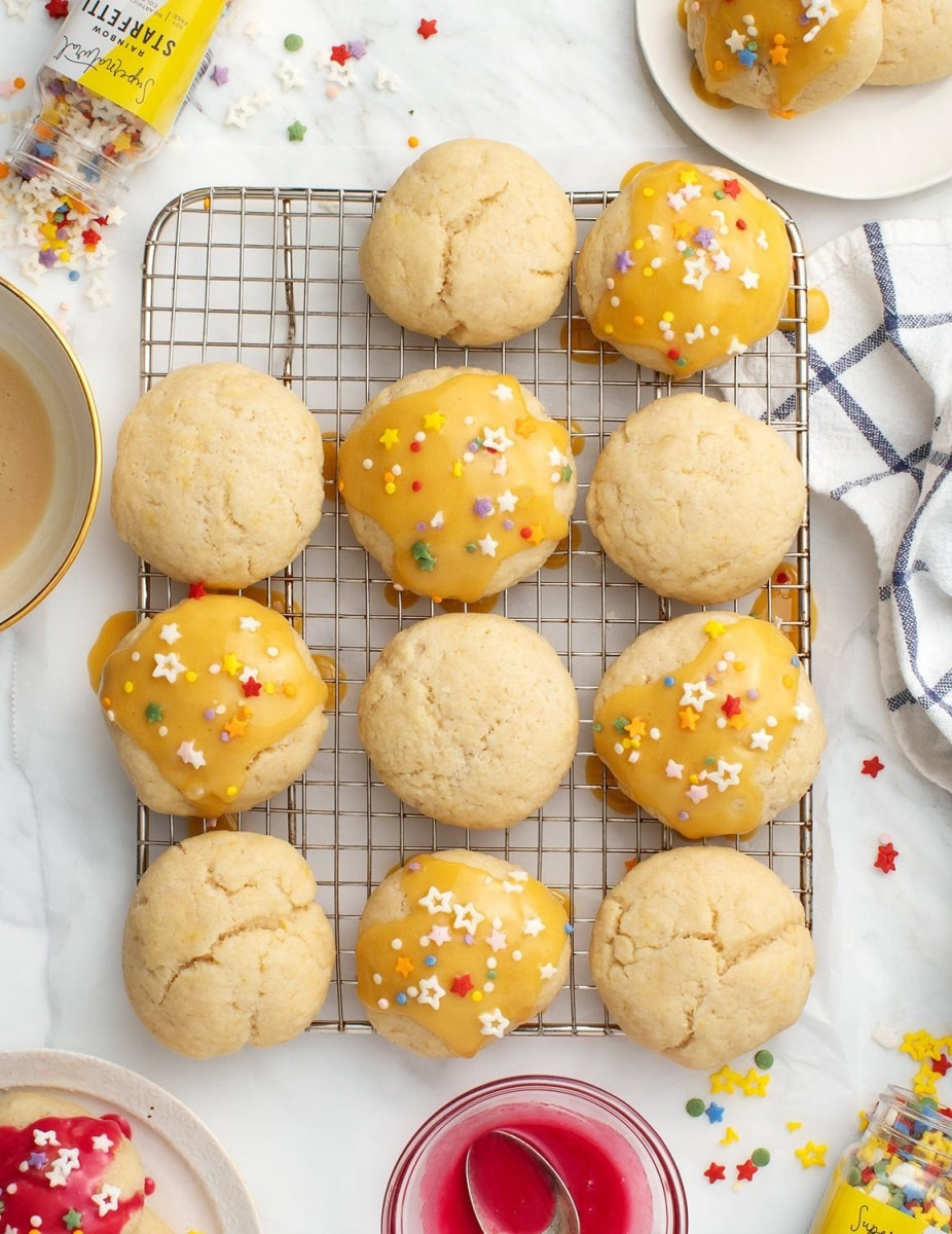 Soft Baked Vegan Sugar Cookies With Cashew Icing Recipe