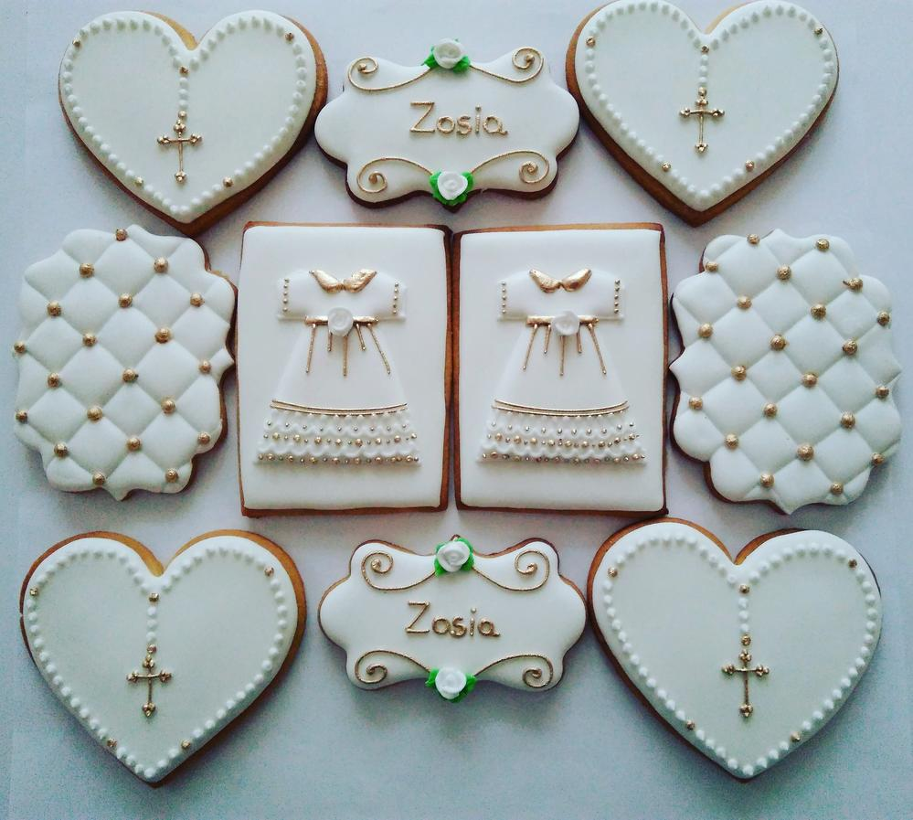 First Communion Cookies Set