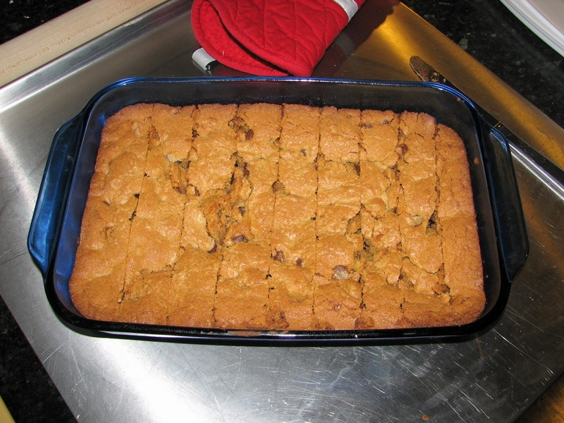 Toll House Cookie Bars