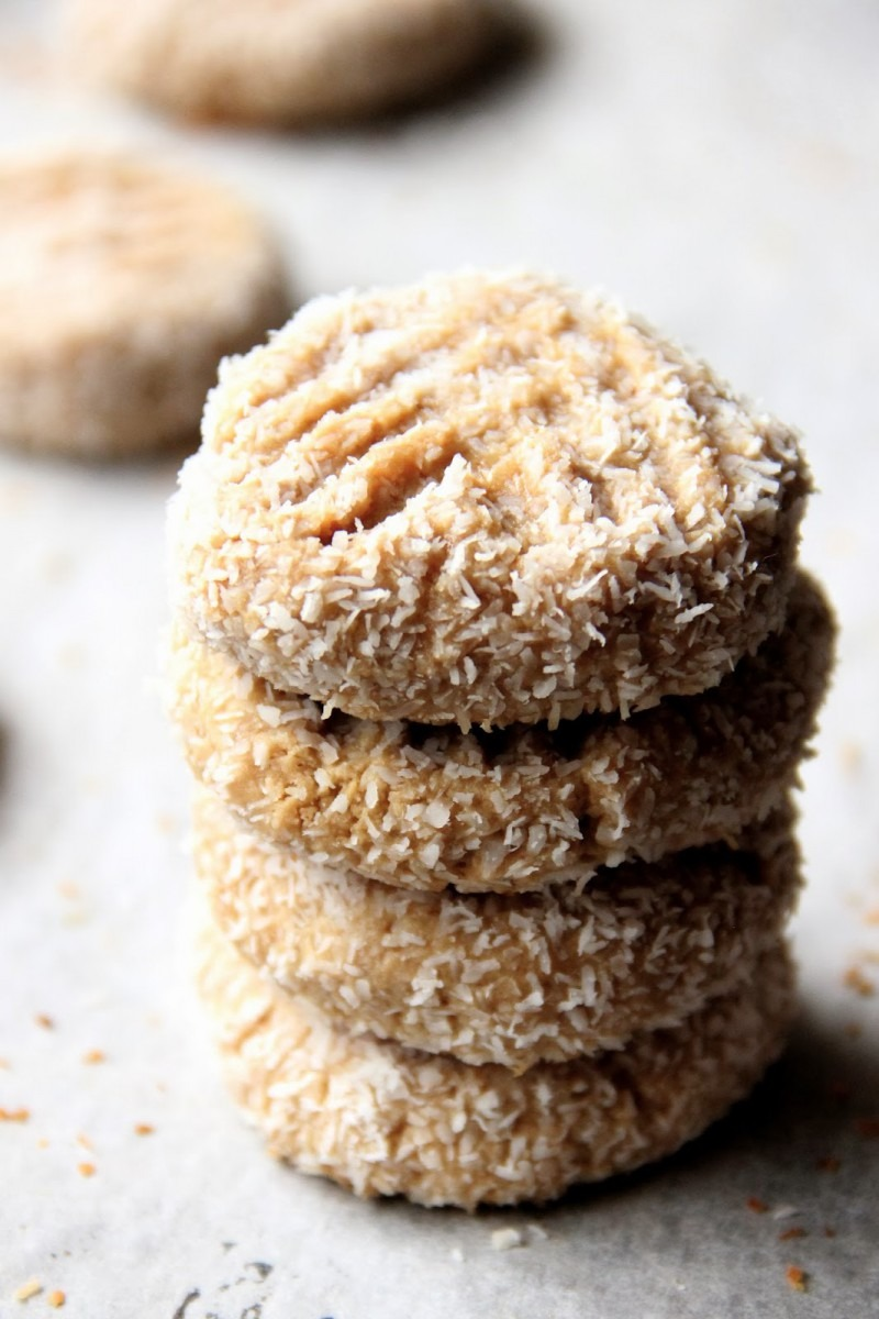 My Happy Place  Honey Peanut Butter & Coconut Cookies