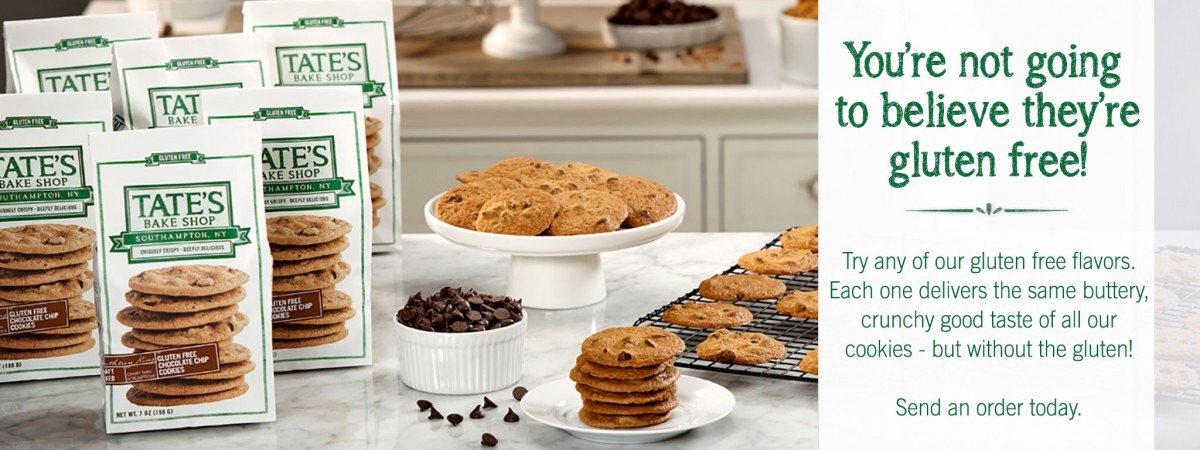 Gluten Free Cookies And Gluten Free Gifts  Tate's Bakeshop Gifts