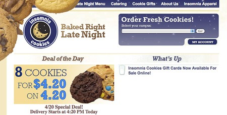 Insomnia Cookies Gift Card