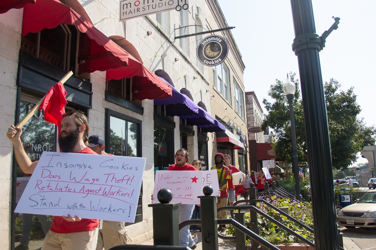 Insomnia Cookies Employees Strike For Higher Wages