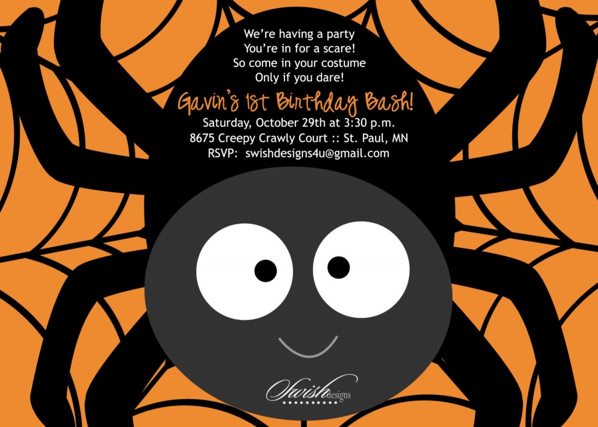 Sterling Halloween Party Invitations Templates To Make New Style