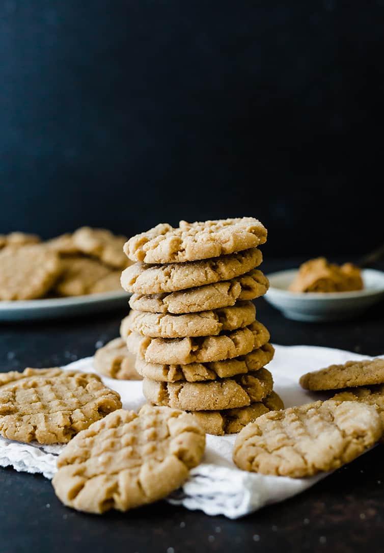 The Best Soft Peanut Butter Cookies