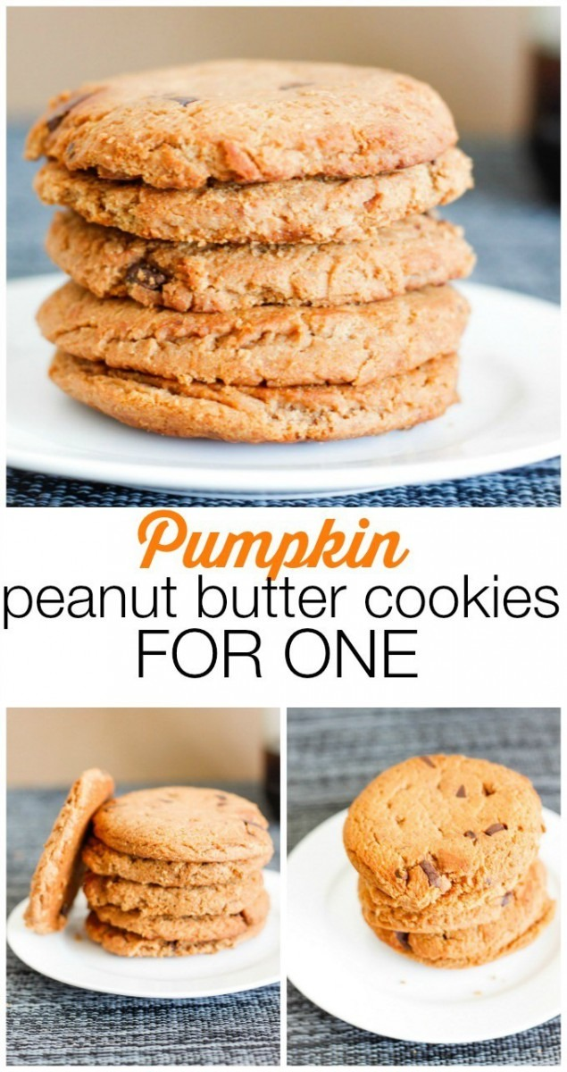 Easy Pumpkin Peanut Butter Cookies