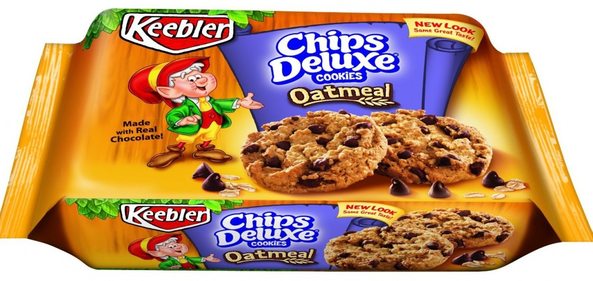 Keebler Deluxe Oatmeal Chocolate Chip Cookies $2 32 Box