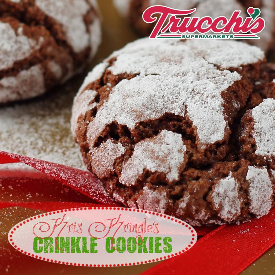 Kris Kringle's Crinkle Cookies