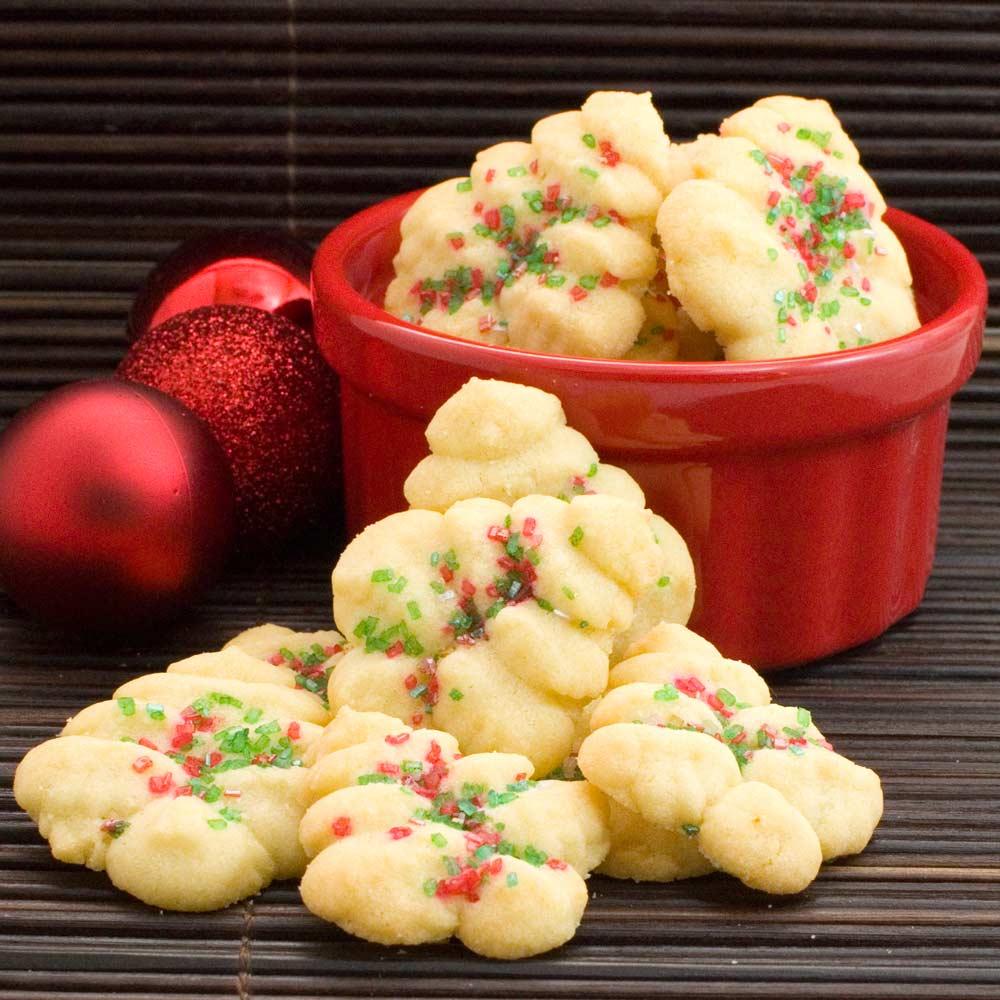 Lemon Cookie Press Cookies Recipe
