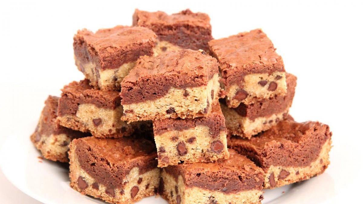 Cookie Dough Brownies Recipe