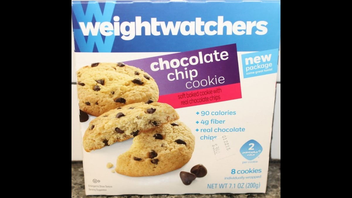 Weight Watchers  Chocolate Chip Cookie Review