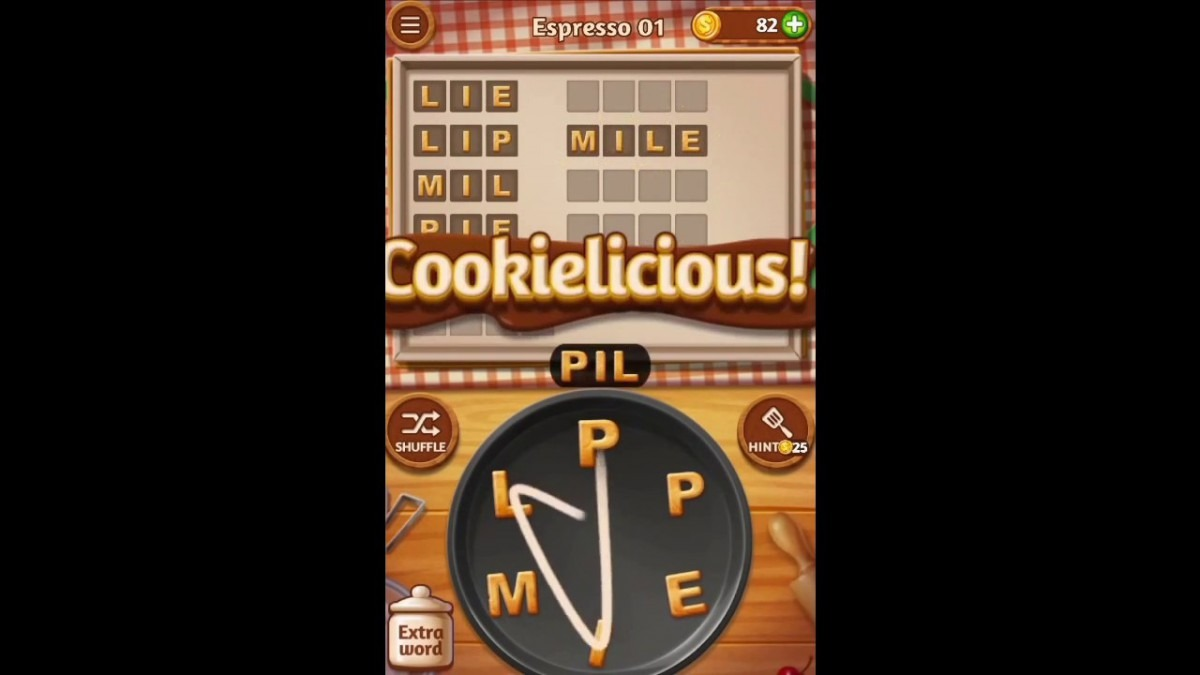 Word Cookies Espresso 1 Answers Guide
