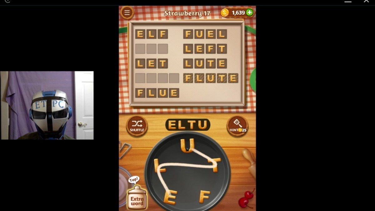 Word Cookies Strawberry 17 Solved