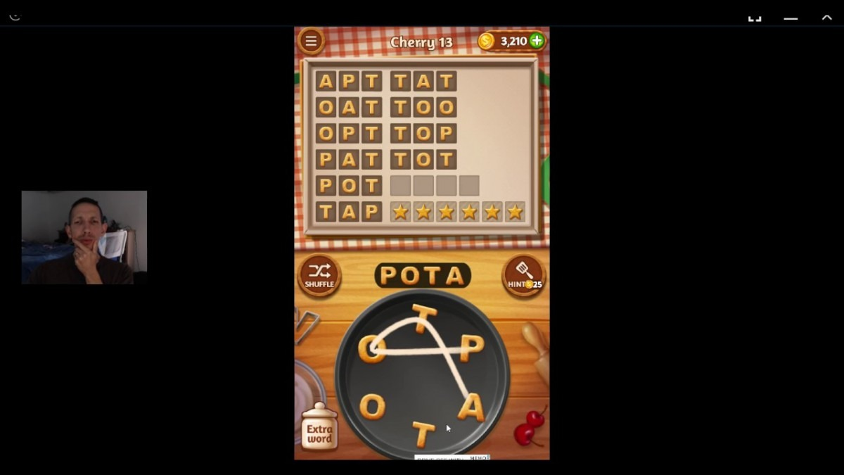 Word Cookies, Talented Chef, Cherry (updated) Level 13 Solved