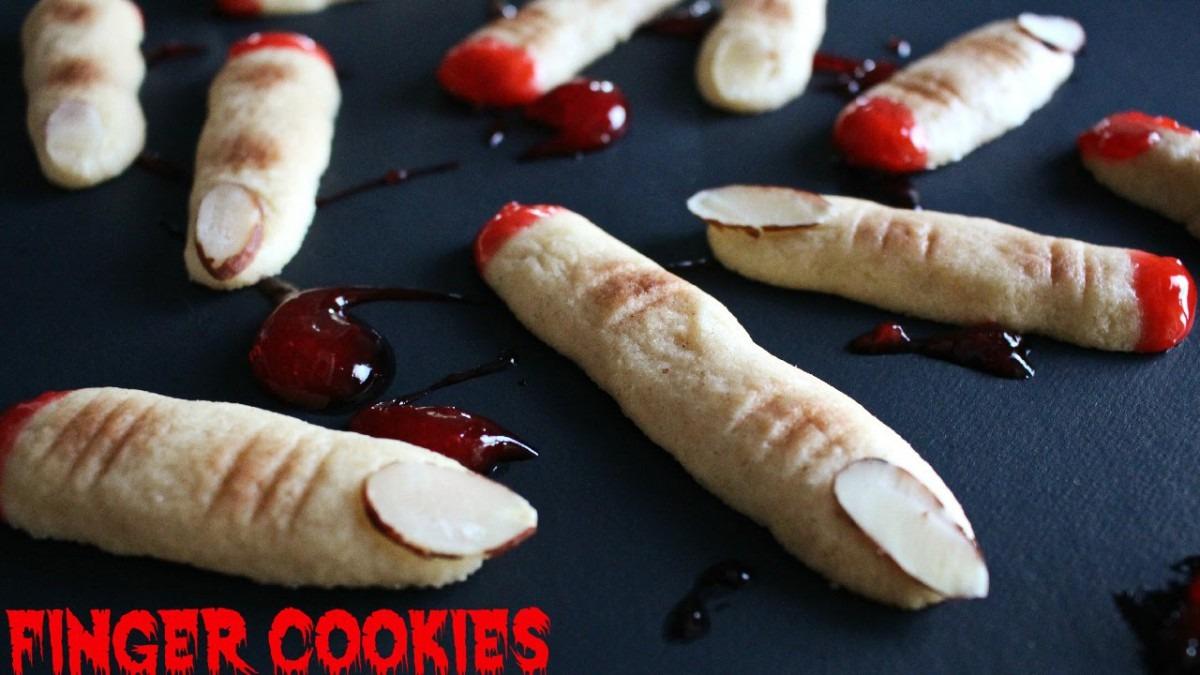 Halloween Finger Cookies Recipe