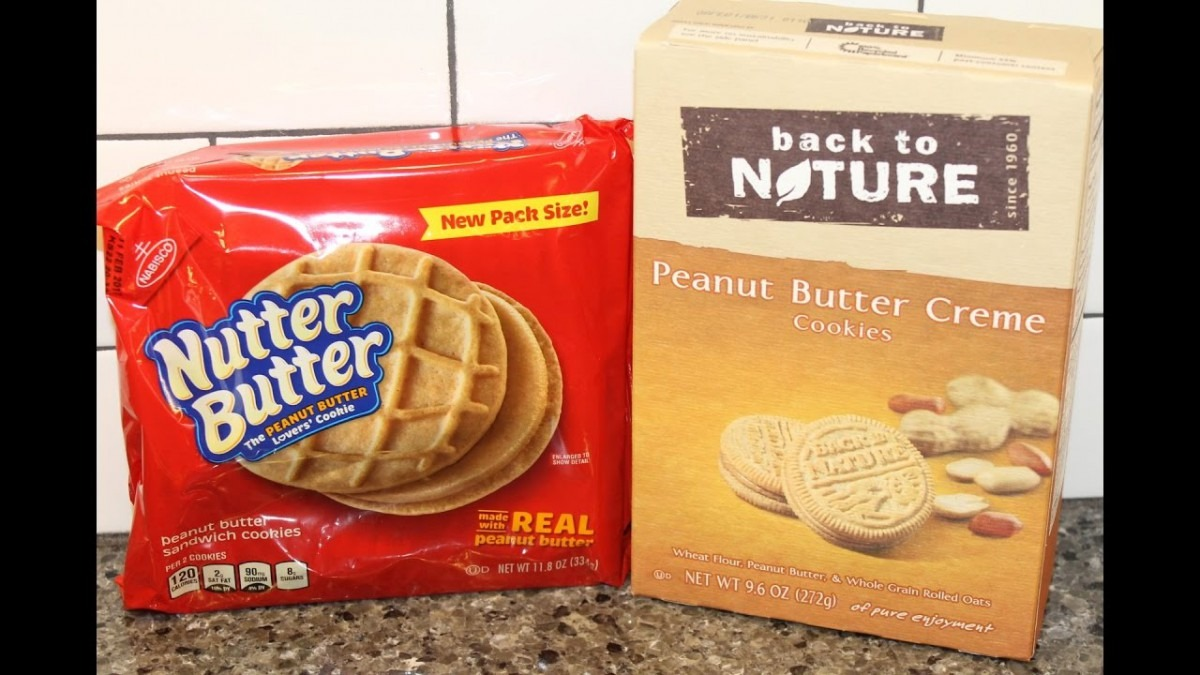 Nutter Butter Vs Back To Nature – Peanut Butter Cookies Blind