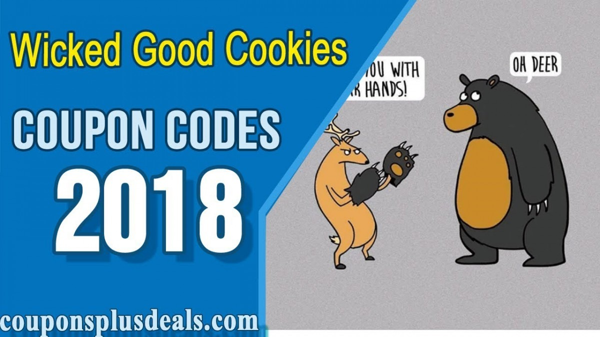 Wicked Good Cookies Coupon 2018 To Save More