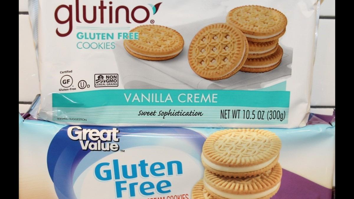 Glutino Vs Great Value  Gluten Free Vanilla Crème Cookies Blind