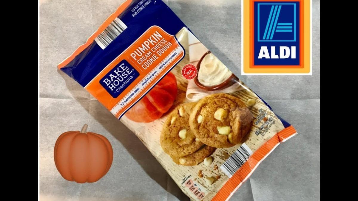 Aldi Pumpkin Cream Cheese Cookie Dough
