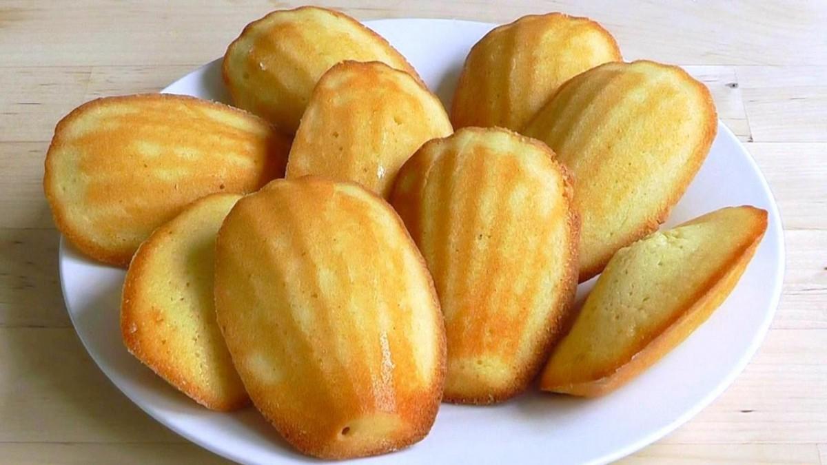How To Make Madeleines French Cakes Recipe Lemon Cake