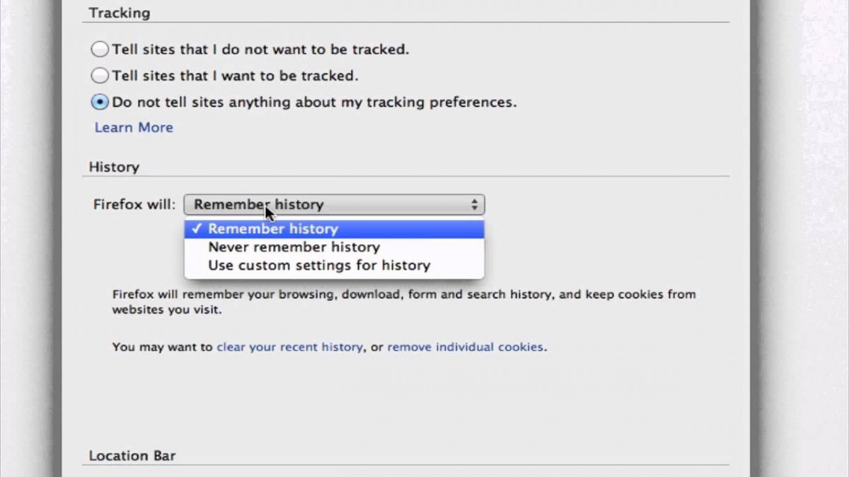 How To Automatically Delete Cookies In Firefox   Firefox Browser