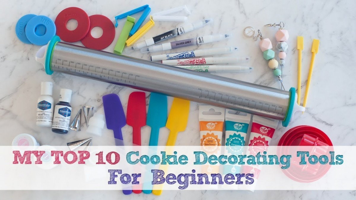 Top 10 Cookie Decorating Tools