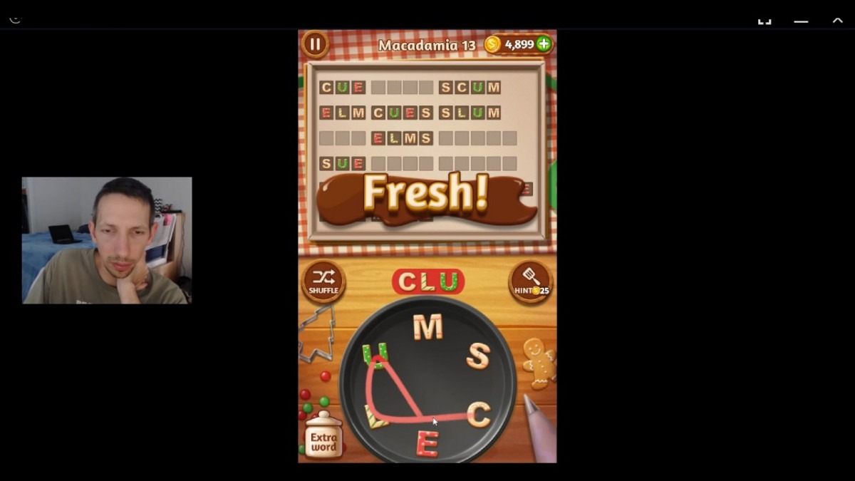 Word Cookies, Pastry Chef, Macadamia Updated Level 13 Solved