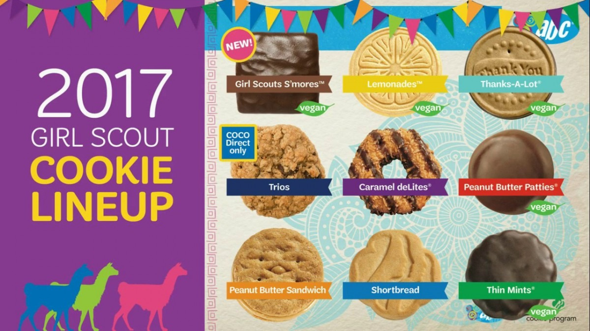 Girl Scout Cookie Form