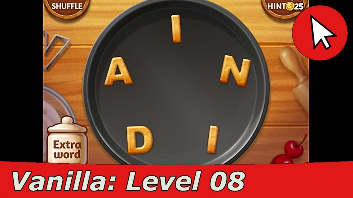 Word Cookies Vanilla 8 Answers Guide