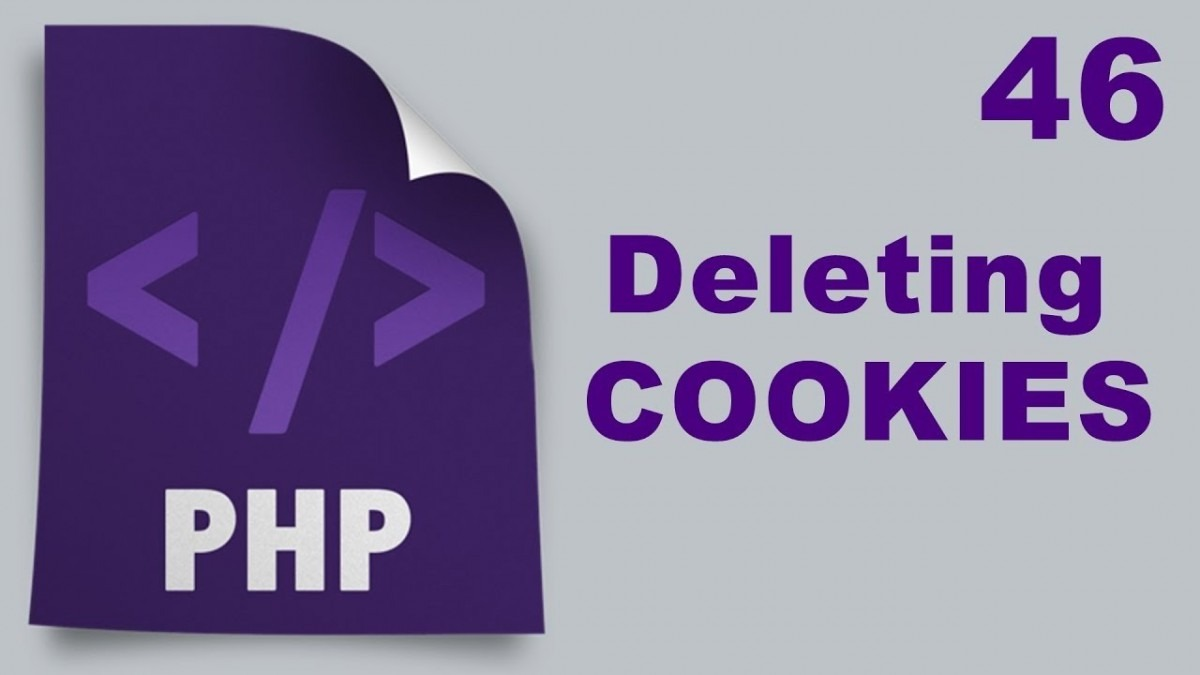Learn Php Video 37 (php Delete Cookies)