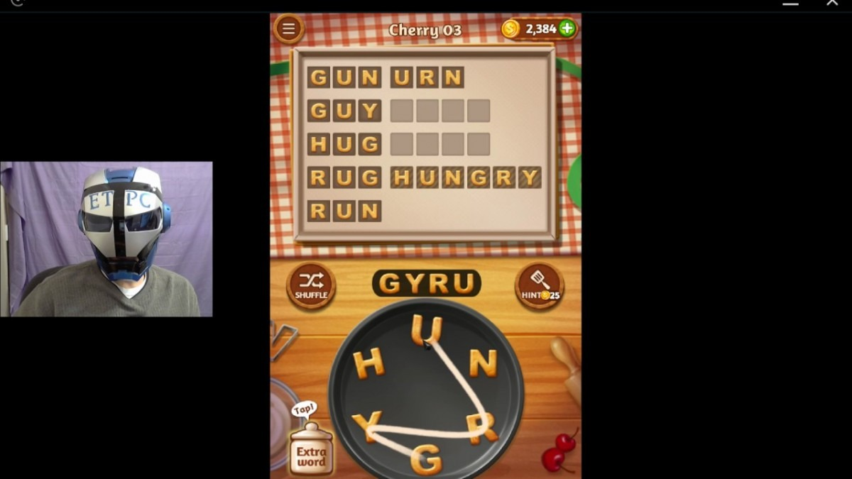 Word Cookies Cherry 3 Solved