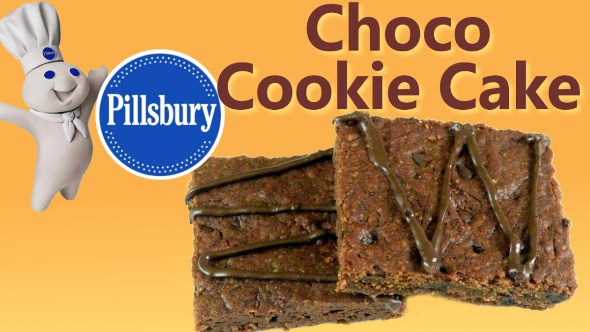 How To Make Choco Cookie Cake Like Pillsbury At Home