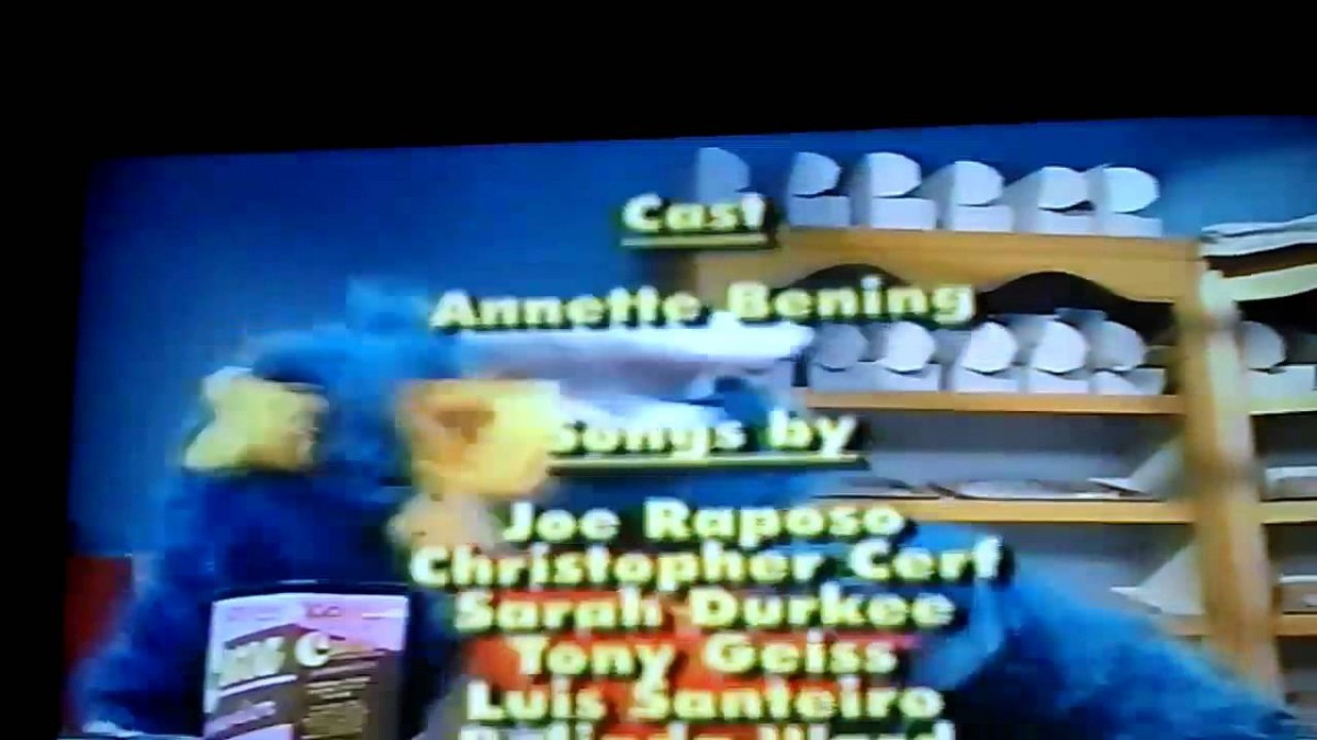 Closing To Cookie Monster's Best Bites 1995 Vhs