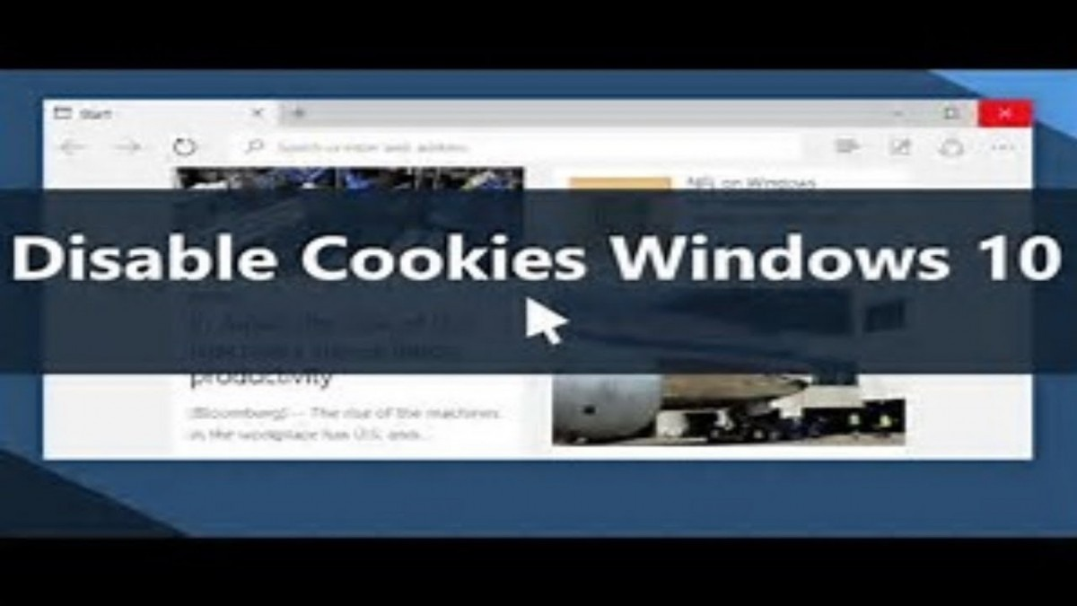 How To Remove Cookies On Windows 10