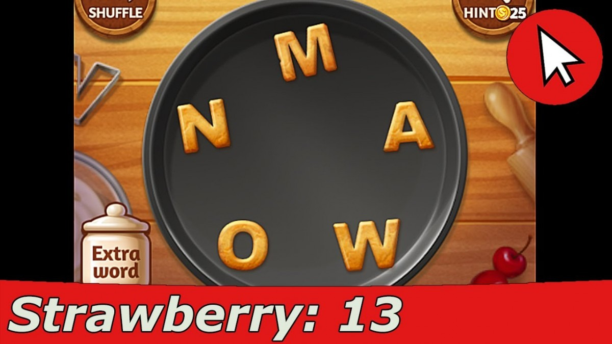 Word Cookies Strawberry 13 Answers Guide