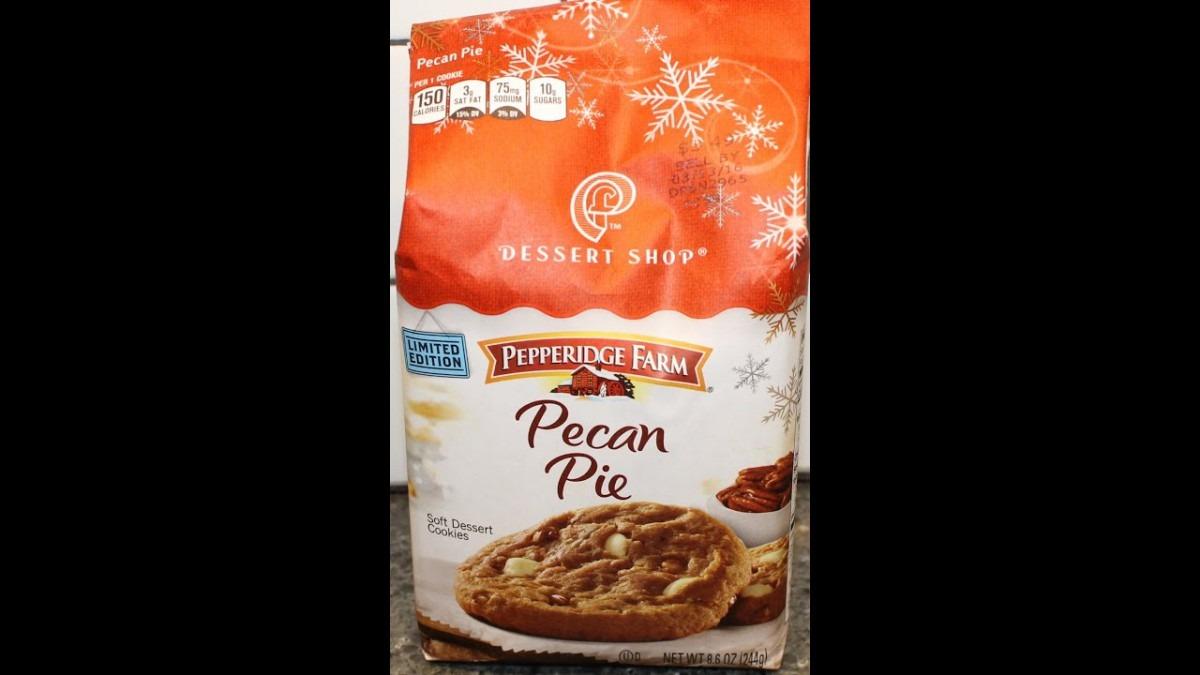 Pepperidge Farm Dessert Shop Cookies  Pecan Pie Review