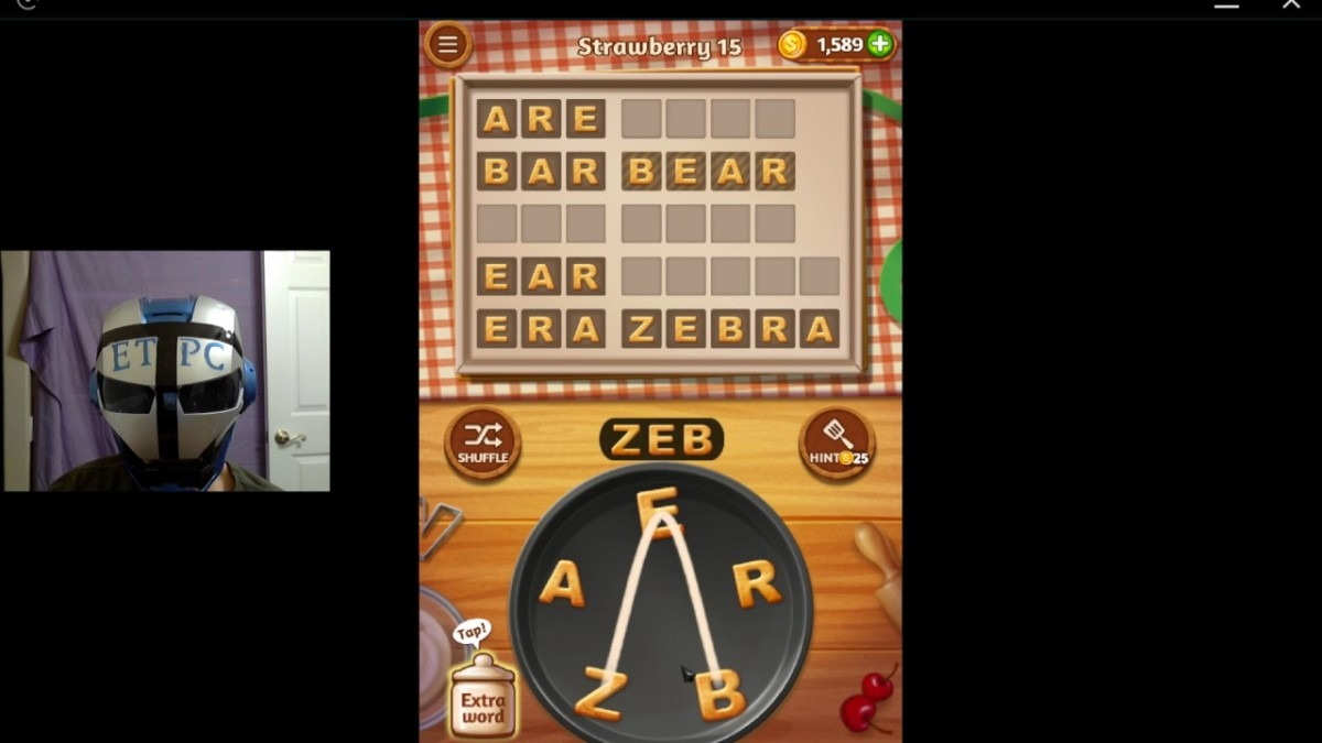 Word Cookies Strawberry 15 Solved