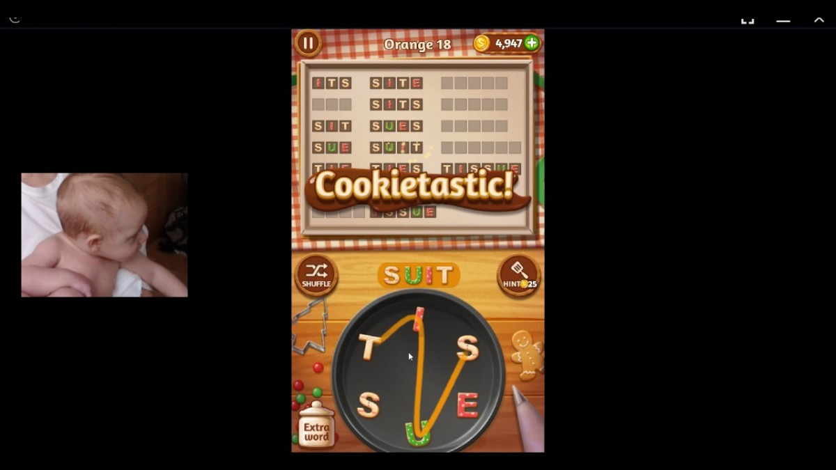 Word Cookies, Star Chef, Orange Updated Level 18 Solved