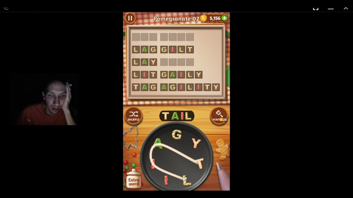 Word Cookies, Star Chef, Updated Pomegranate Level 2 Solved