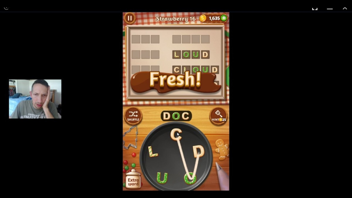 Word Cookies, Talented Chef, Strawberry Updated Level 16 Solved